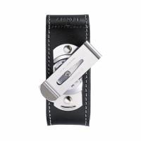 Funda de piel para 91 mm (4 - 5 capas) con clip giratorio | 4.0520.31 .