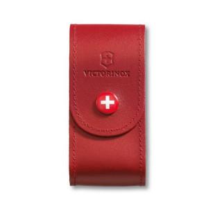 Funda de piel roja con botón para herramienta de 91 mm (5 a 8 capas) [4.0521.1] :