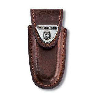 Funda de piel marrón para modelos de 58 mm [4.0531] :