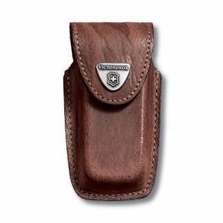 Funda de piel marrón para modelos 91 mm (5 a 8 capas) [4.0535] :