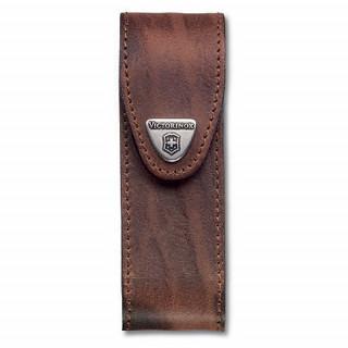 Funda de piel marrón para modelos 111 mm [4.0548] :