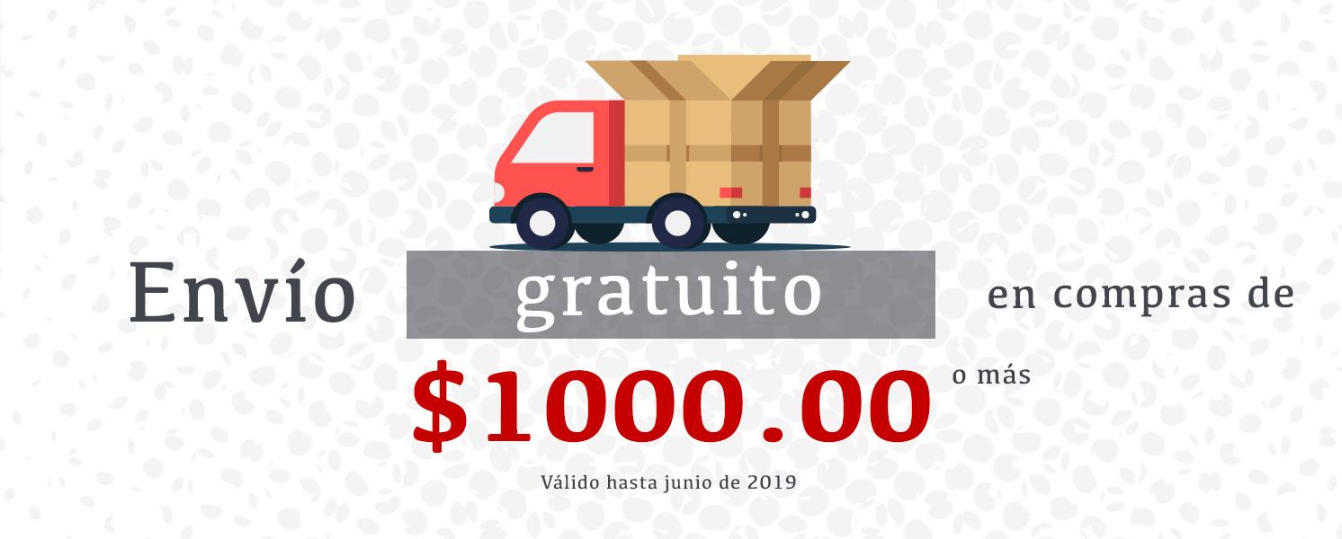 Envío gratuito 1000