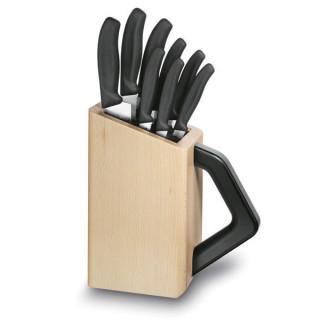 Block para cuchillos  SwissClassic, madera de Hayedo, 8 piezas [6.7173.8] *