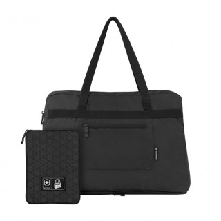 4.0 Bolso negro, plegable, nylon [31375001] :