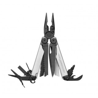Leatherman Wave Plus Black and Silver [832622] :