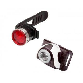 Kit de linterna para bicicleta Led Lenser SEO B3-K