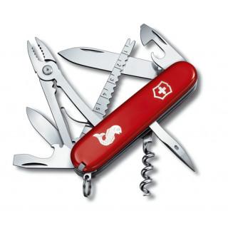 Angler rojo con incrustación metálica [1.3653.72] *