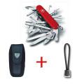 SwissPack SwissChamp + Funda de Nylon + Cordón [SC-NB] :
