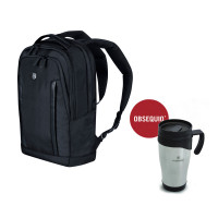 COMPACT LAPTOP BACKPACK CON TAZA TÉRMICA