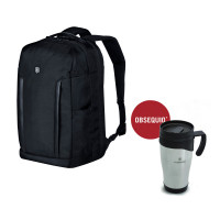DELUXE TRAVEL LAPTOP BACKPACK CON TAZA TÉRMICA