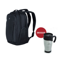 ESSENTIAL LAPTOP BACKPACK CON TAZA TÉRMICA