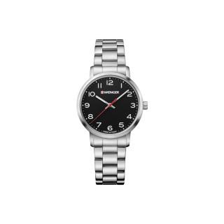 Reloj Wenger Avenue Dama / Negro / Acero / Acero [01.1621.102] ^