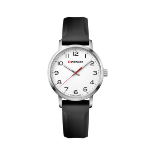 Reloj Wenger Avenue Dama / Blanco / Acero / Silicón [01.1621.103] ^