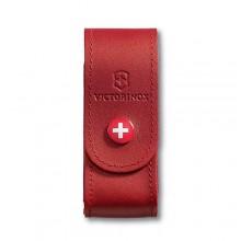 Funda de piel roja con botón para modelos 91 mm (2 a 4 capas) [4.0520.1] +…