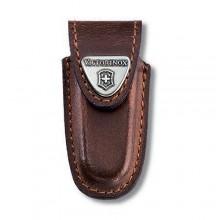 Funda de piel marrón para modelos de 58 mm [4.0531] +…