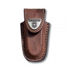 Funda de piel marrón para modelos de 58 mm [4.0532] +…
