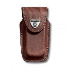 Funda de piel marrón para modelos 91 mm (5 a 8 capas) [4.0535] +…