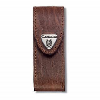 Funda de piel marrón para modelos 91 mm (2 a 4 capas) [4.0543] ^