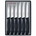 Juego de 6 cuchillos SC dentados punta redonda, hoja de 11 cm [6.7333.6G] …
